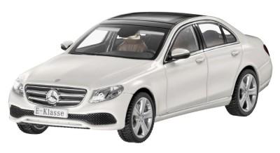 Модель Mercedes-Benz E-Class Saloon (W213), Avantgarde, Scale 1:43, Designo Diamond White Bright