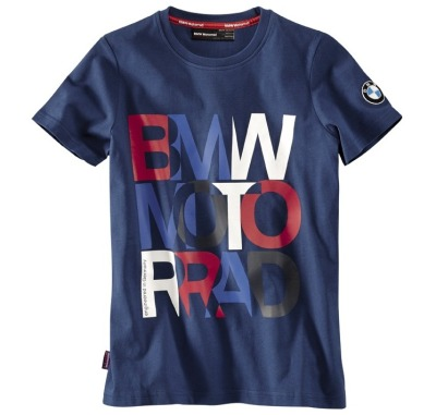 Детская футболка BMW Motorrad Logo T-Shirt in Blue, Children