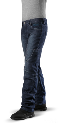 Женские мотоштаны BMW Motorrad Lidies Pants, City, Indigo