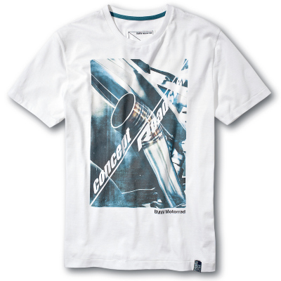 Мужская футболка BMW Motorrad Concept Roadster T-Shirt in White, for men