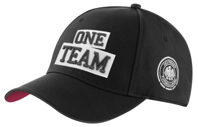 Мужская бейсболка Mercedes-Benz ONE TEAM Unisex cap, Black