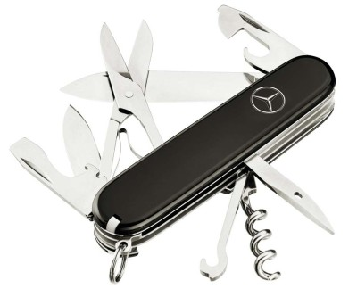 Перочинный нож Mercedes-Benz Victorinox Climber Pocket Knife, Black