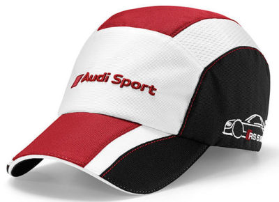 Бейсболка Audi Unisex Cap, DTM, white/black/red