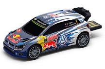 Флешка Volkswagen USB-stick Polo R WRC, Motorsport, 8Gb