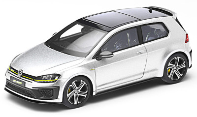 Модель автомобиля Volkswagen Golf R 400, Scale 1:43, Silver Lake Metallic