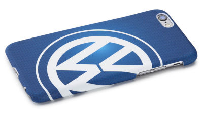 Чехол Volkswagen Logo iPhone 6/6S Cover, Blue