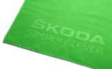 Банное полотенце Skoda Bath Towel, Size L, Green, артикул 000084500F