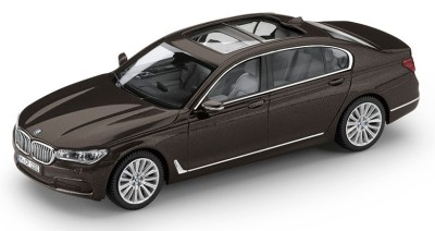 Модель BMW 750 Li (G12), Jatoba Brown, Scale 1:43