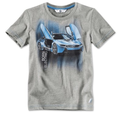Детская футболка BMW i T-Shirt with i8 Print, Kids.