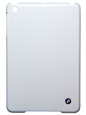 Пластиковый чехол BMW для iPad Mini Signature Hard Metallic White