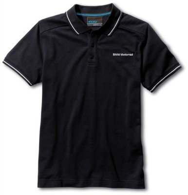 Мужская рубашка-поло BMW Motorrad GS Adventure Polo-shirt, for Men, Black