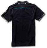 Мужская рубашка-поло BMW Motorrad GS Adventure Polo-shirt, for Men, Black, артикул 76818561202