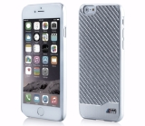 Крышка-чехол BMW для iPhone 6 M-Collection Carbon & Aluminium Finish, Silver, артикул J5200000091