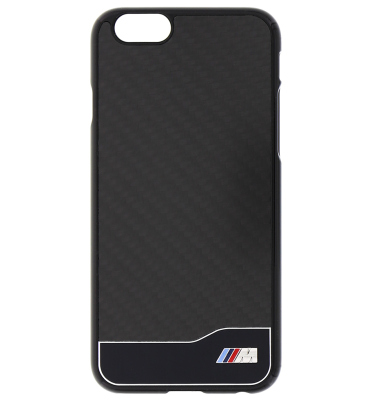 Крышка-чехол BMW для iPhone 6 M-Collection Carbon & Aluminium Finish, Black