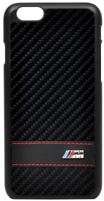 Крышка-чехол BMW для iPhone 6 M-Collection Hard Carbon Effect Black