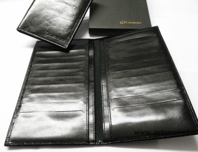 Портмоне Lexus Leather Wallet, Black
