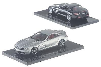 Модель Mercedes-Benz SLR McLaren 2003, Crystal Laurit Silver