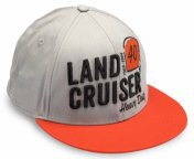 Бейсболка Toyota Land Cruiser 40 Baseball Cap, Grey-Red