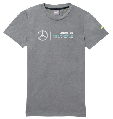Мужская футболка Mercedes AMG Petronas Men's T-shirt, Grey