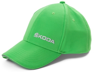 Бейсболка Skoda Baseball Cap, Bright Green