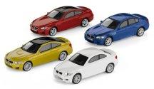 Коллекционный набор из 4-х моделей BMW M-серии, 1:64 scale