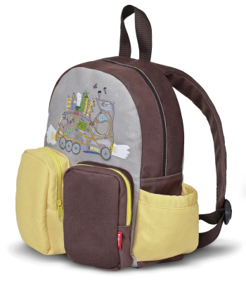 Детский рюкзак Toyota Kids Backpack, Grey-Brown-Yellow