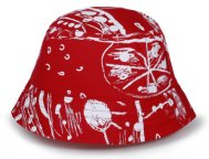 Детская панама Toyota Kids Panama Hat, Red Rose