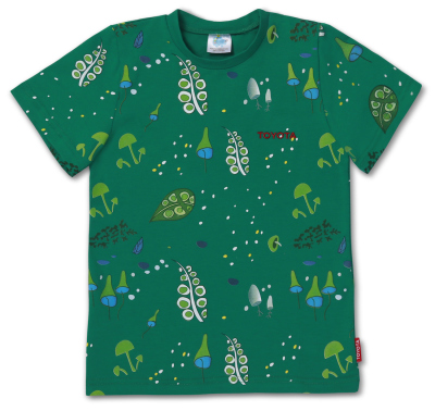 Детская зеленая футболка Toyota Kids T-Shirt Green