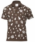 Мужская рубашка-поло Toyota Men's Polo Shirt, Brown