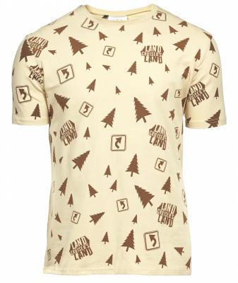 Мужская футболка Toyota Men's T-Shirt, Beige