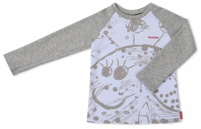 Детский свитшот Toyota Kids Sweatshirt, Grey