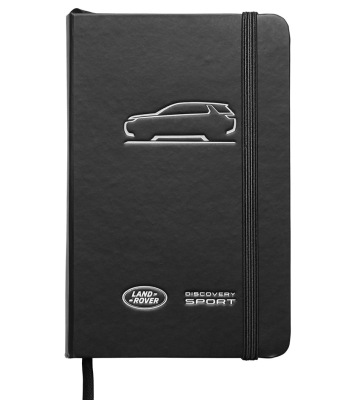 Блокнот - записная книжка Land Rover Discovery Sport Notebook Black