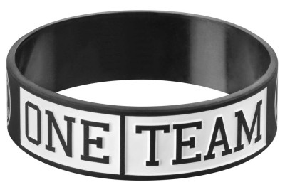 Браслет Mercedes Unisex Wristband, ONE TEAM