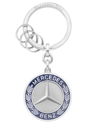 Брелок Mercedes-Benz Key Ring, Stuttgart, Silver