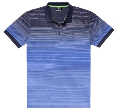 Мужская футболка поло Mercedes-Benz Men's Polo Shirt, Hugo Boss, Navy / Royal Blue