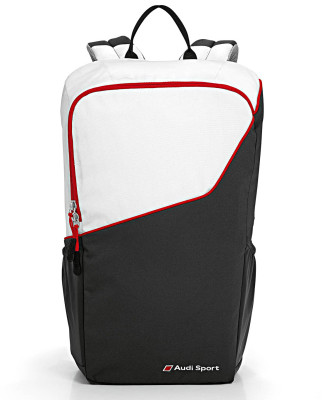 Рюкзак Audi Sport Backpack, black/white/red