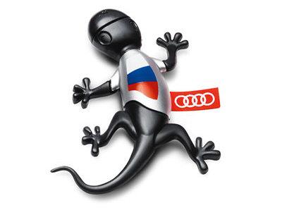 Ароматизатор воздуха в салон Audi Russia Gecko Cockpit Air Freshener, Scent Woody