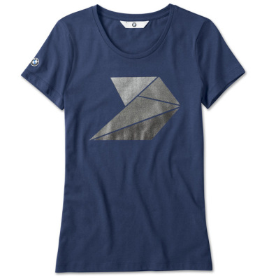 Женская футболка BMW T-Shirt, The Next 100 Year, Ladies, Blue