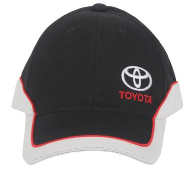 Бейсболка Toyota Baseball Cap, Classic, Black-White