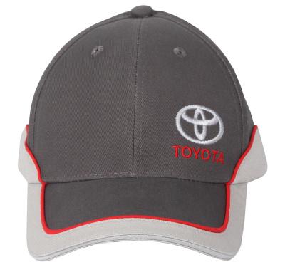 Бейсболка Toyota Baseball Cap, Classic, Grey-White