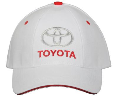Бейсболка Toyota Baseball Cap, Classic, White