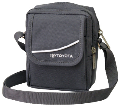 Мужская сумка Toyota Men's Shoulder Bag, Grey