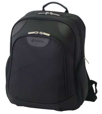 Рюкзак Toyota Flat Backpack, Black