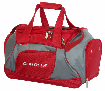 Спортивная сумка Toyota Corolla Sports Bag, Red
