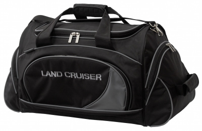 Спортивная сумка Toyota Land Cruiser Travel Bag, Black