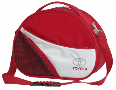 Овальный кейс Toyota Ladie's Travel Case, Red-Grey