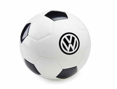 Футбольный мяч Volkswagen Logo Football, White/Black