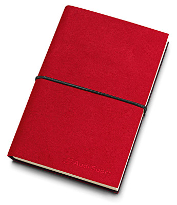 Блокнот Audi Sport Notebook Nardia DIN A6, red