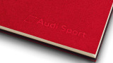 Блокнот Audi Sport Notebook Nardia DIN A6, red, артикул 3291501802