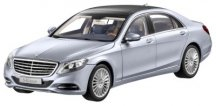 Модель Mercedes-Benz S-Class, Saloon, Diamond Silver Metallic, 1:18 Scale